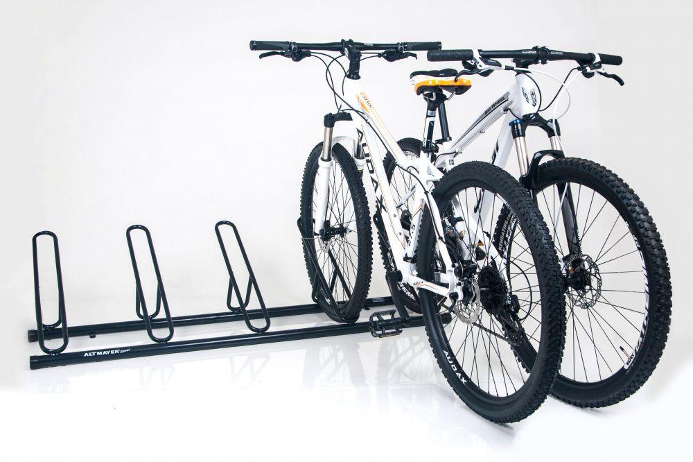 Bicicletário Leve de chão 5 vagas