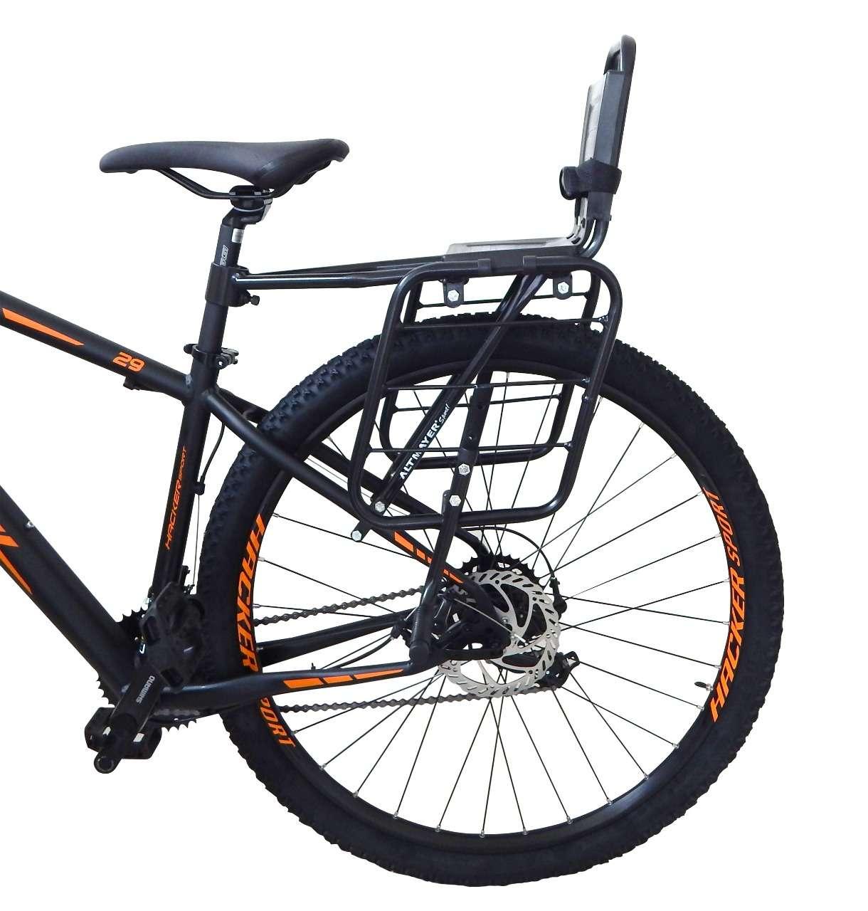 Cadeirinha Bicicleta Infantil Com Bagageiro Acoplado TOP Al-324
