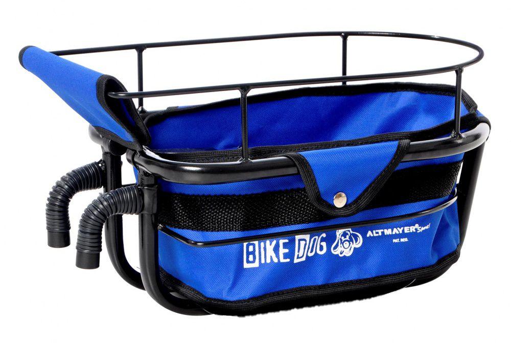 Cadeirinha Bike Dog Azul Altmayer Para Cães de Pequeno Porte