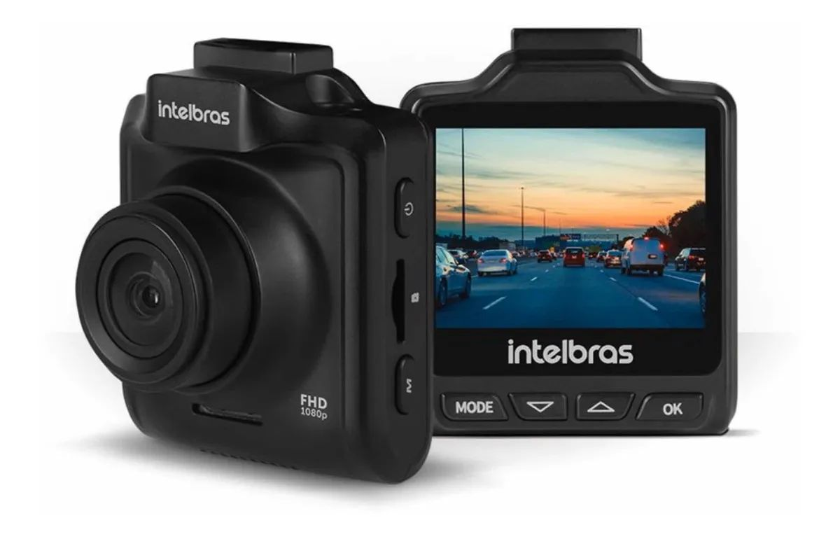 Câmera Veicular  Intelbras Full Hd Dc 3101 Até 11h Gravação