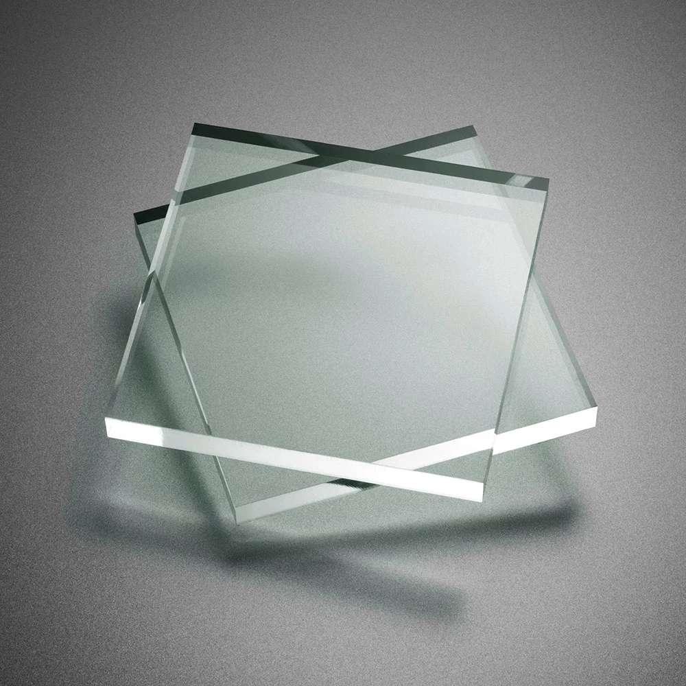 Chapa de Acrílico Cristal 30cm x 30cm x 8 mm