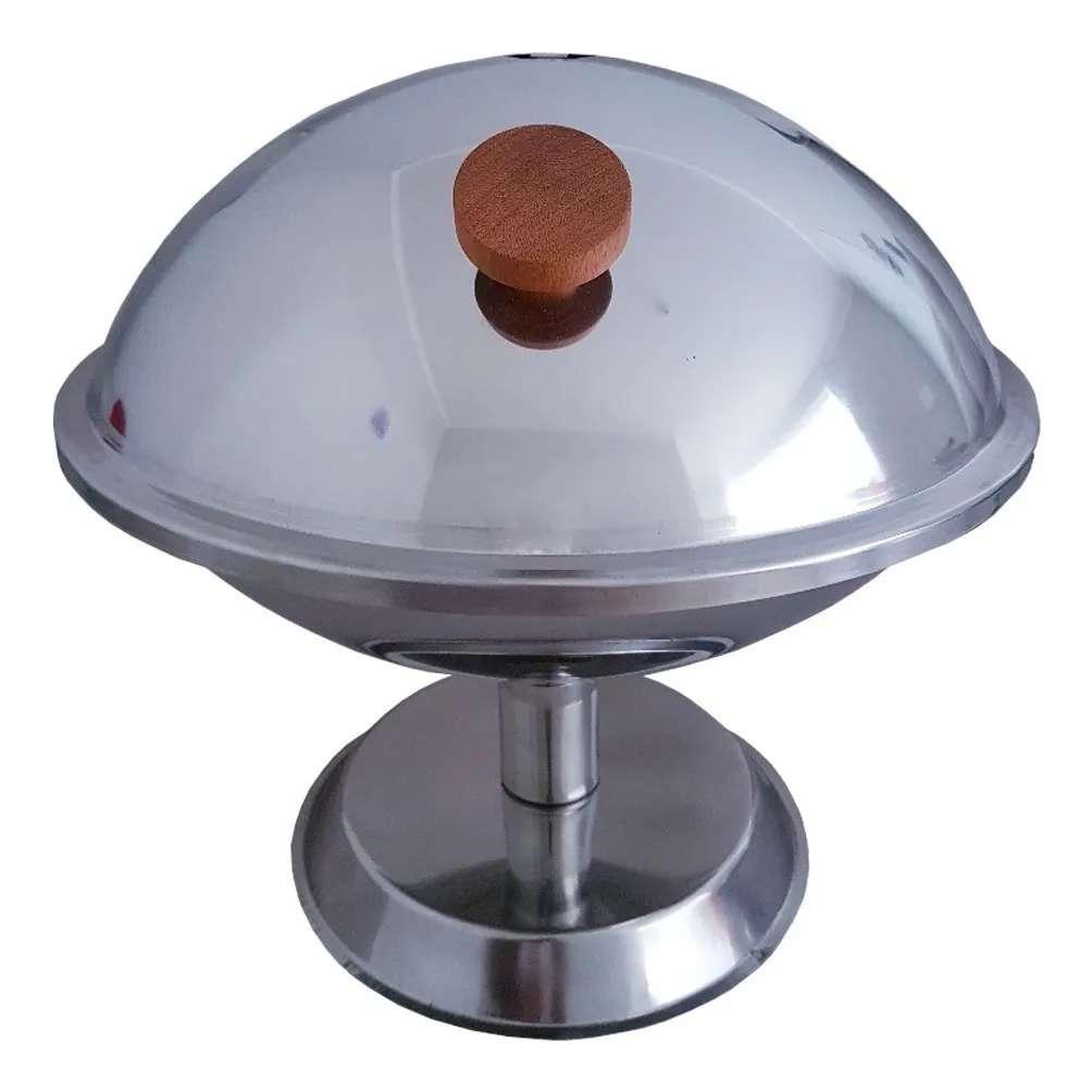 Churrasqueira Nautica Design De Mesa 100 % Em Inox 304