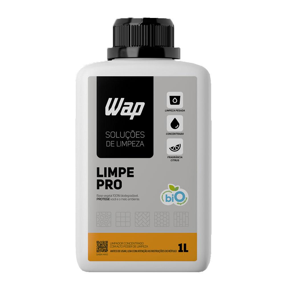 Detergente Concentrado Limpe Pro Wap Limpeza Pesada Piso 1l