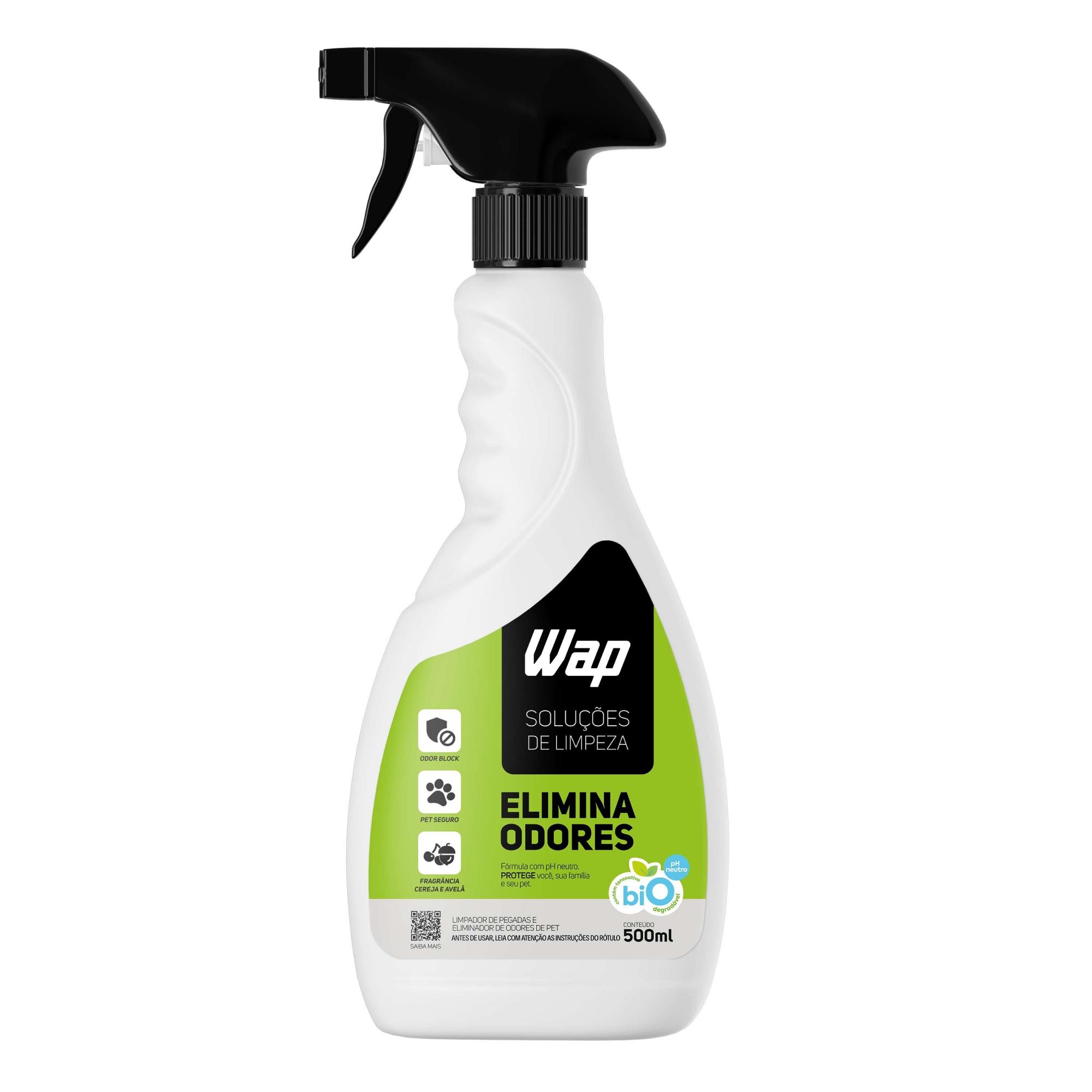 Eliminador De Odores Pet Tecnologia Odor Block 500ml Bio Wap