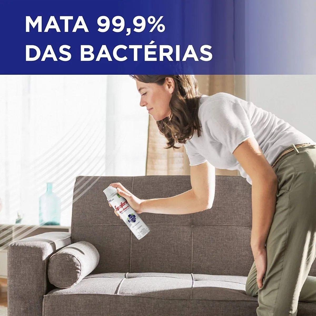 Esterelizante Lysoform Original Bactericida Aerosol 360ml