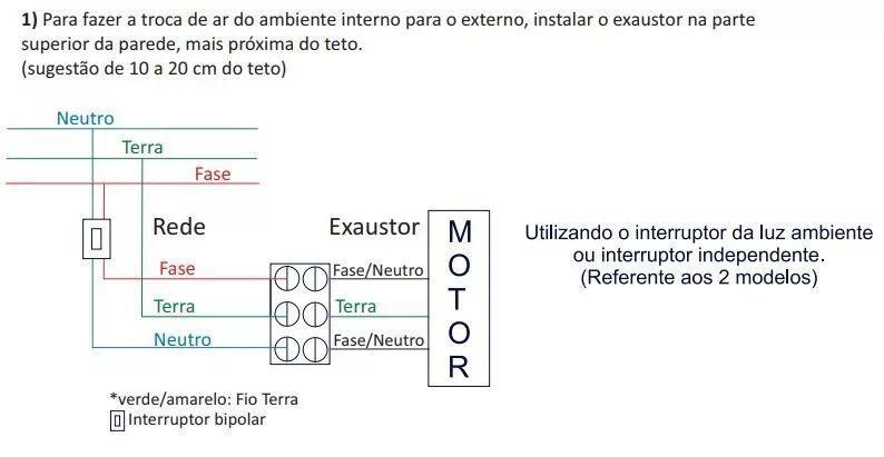 Exaustor Banheiro E Ambientes 100mm Certificado Inmetro