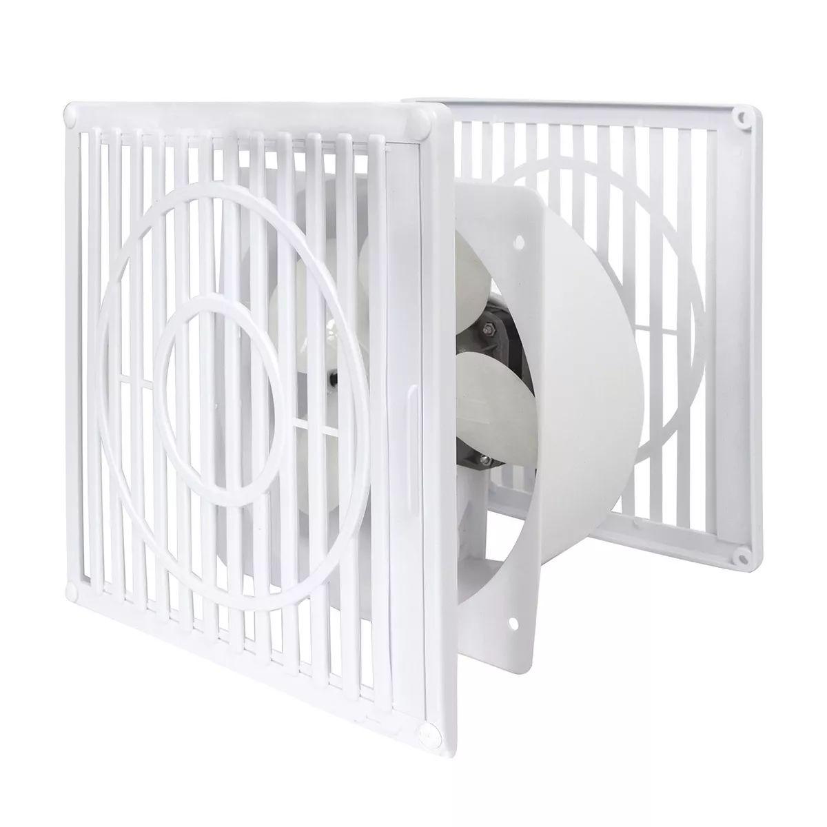Exaustor De Ambientes Depurador de Ar Residencial Catarina 250 Branco 127V