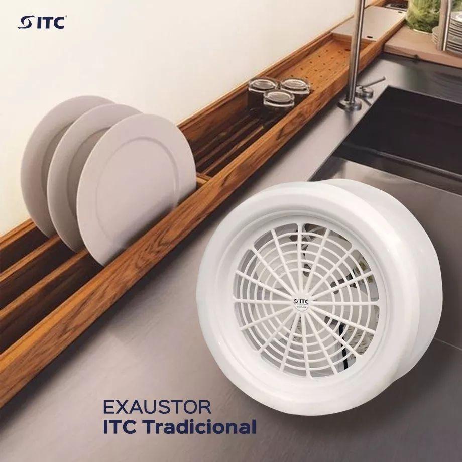 Exaustor de Ambientes ITC Tradicional Branco