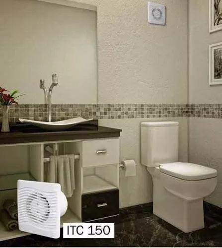 Exaustor Depurador de Ar Ambientes ITC 150 Branco Safanelli