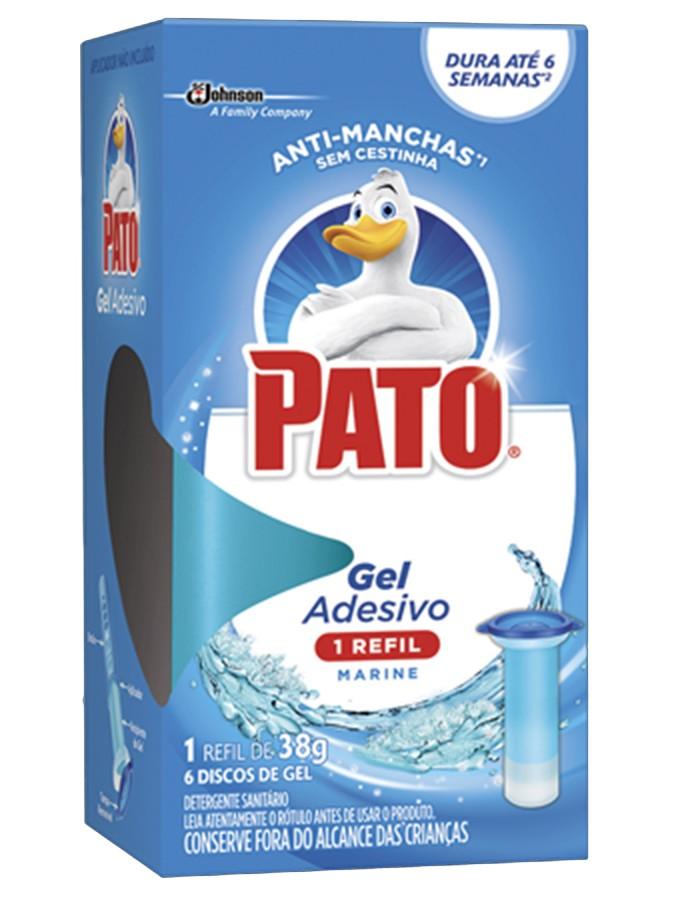 Gel Adesivo Para Vasos Sanitários 38gr Marine Refil Pato