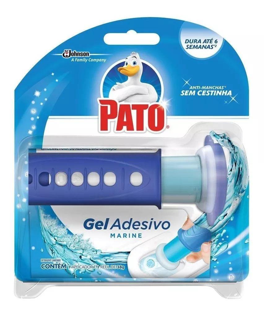 Gel Adesivo Pato Marine 1 Aplicador + 1 Refil De 38 gr. Com 6 Discos
