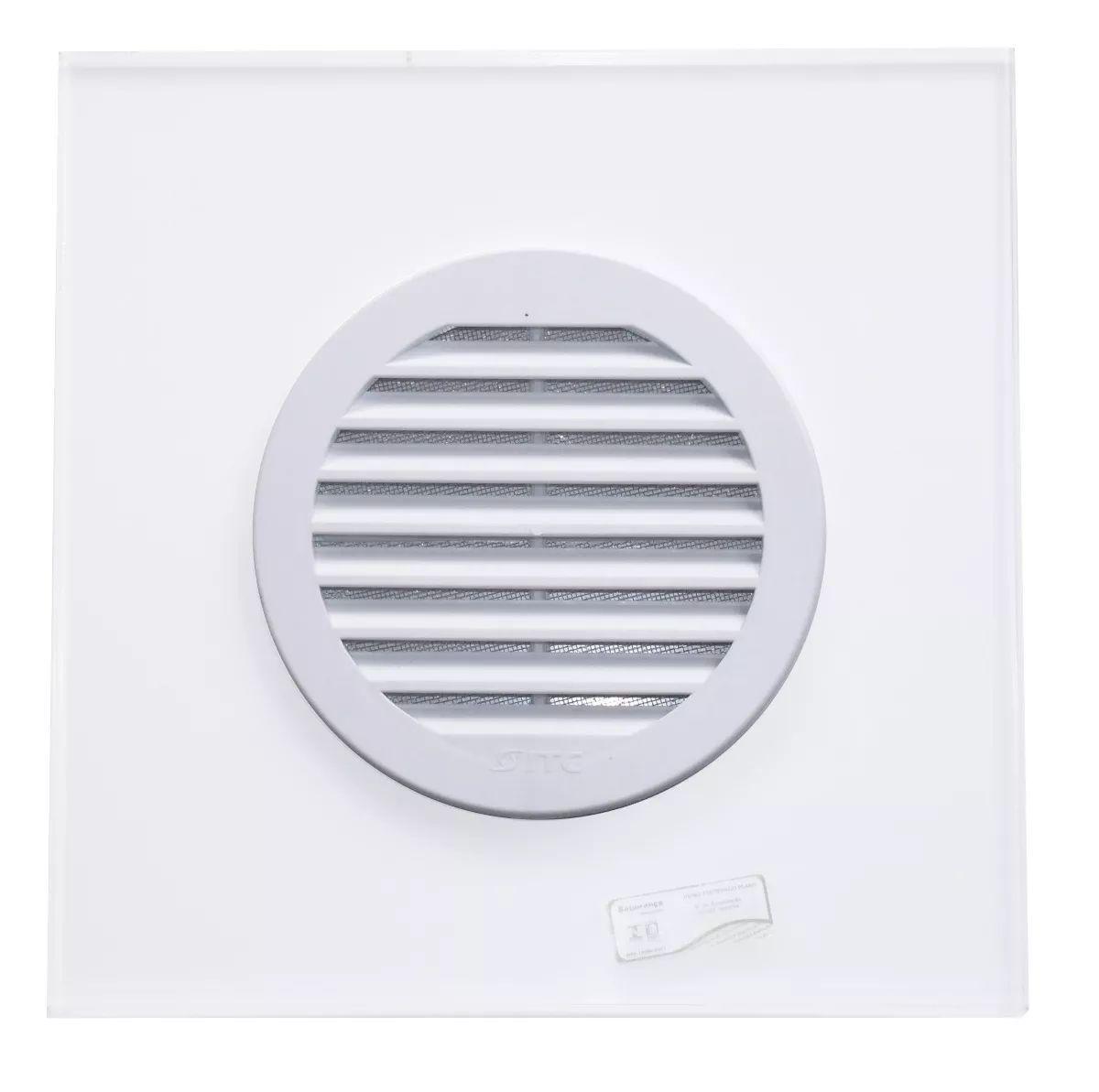 Grade De Ventilação Redonda Para Vidro 150mm ITC