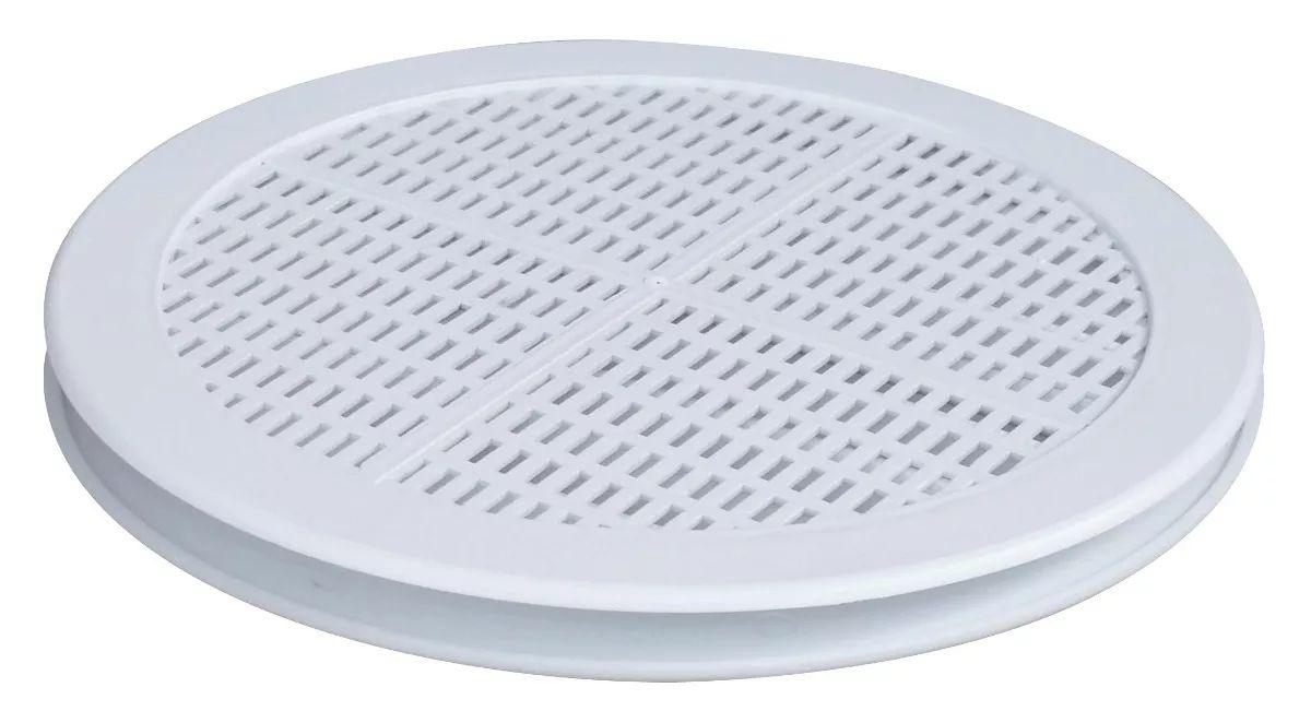 Grade De Ventilação Redonda Para Vidro 150mm ITC (GR152)