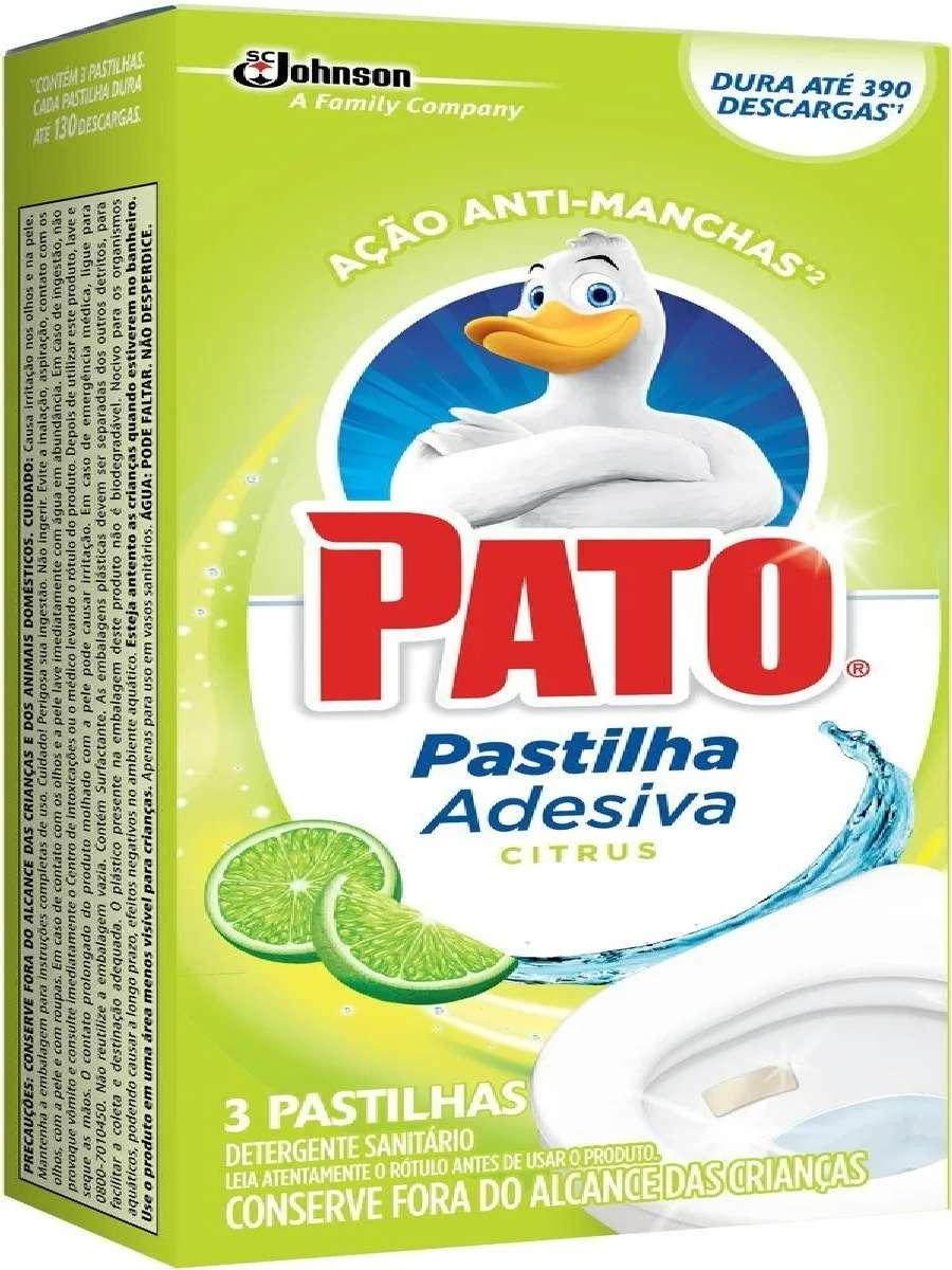 kit 8 Odorizador Sanitário Pato Pastilha Adesiva