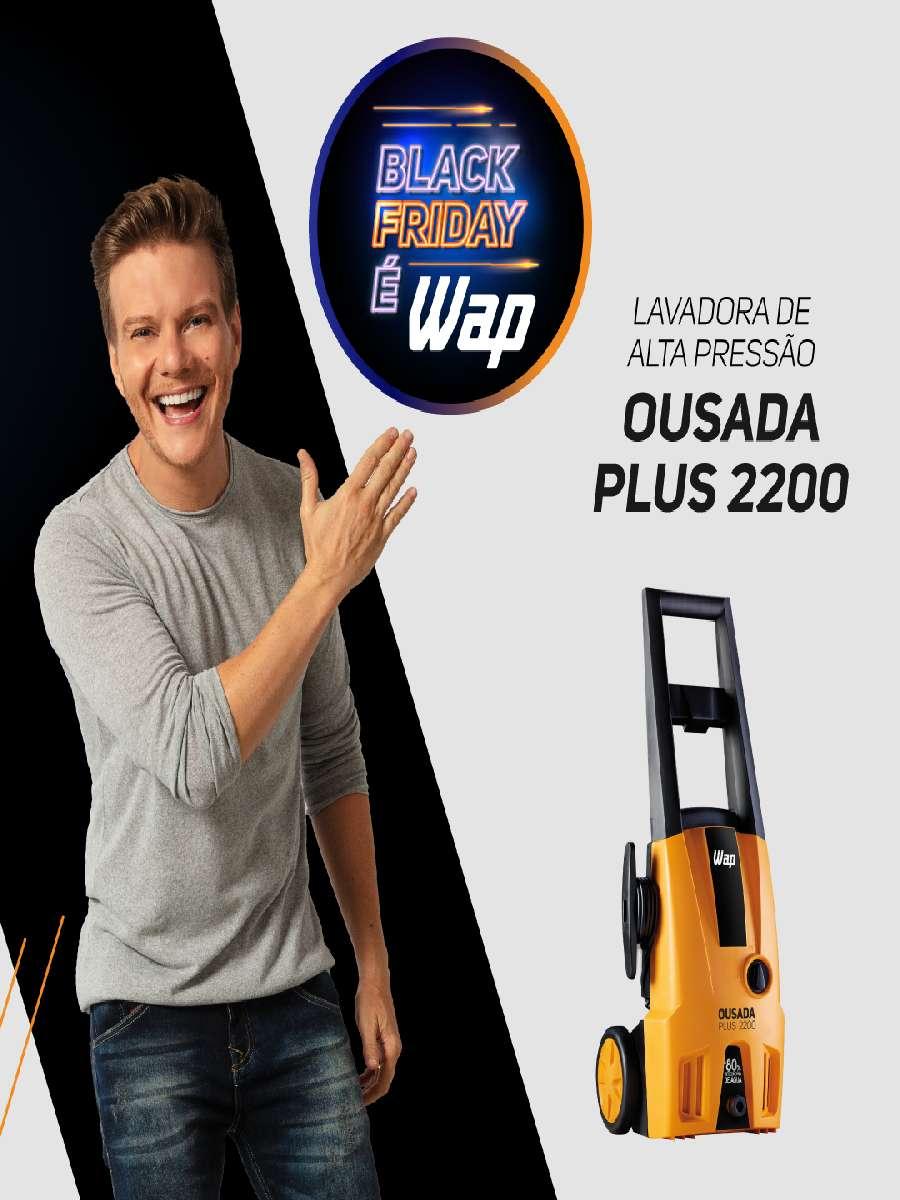 Lavadora De Alta Pressão Wap Ousada Plus 2200 127V
