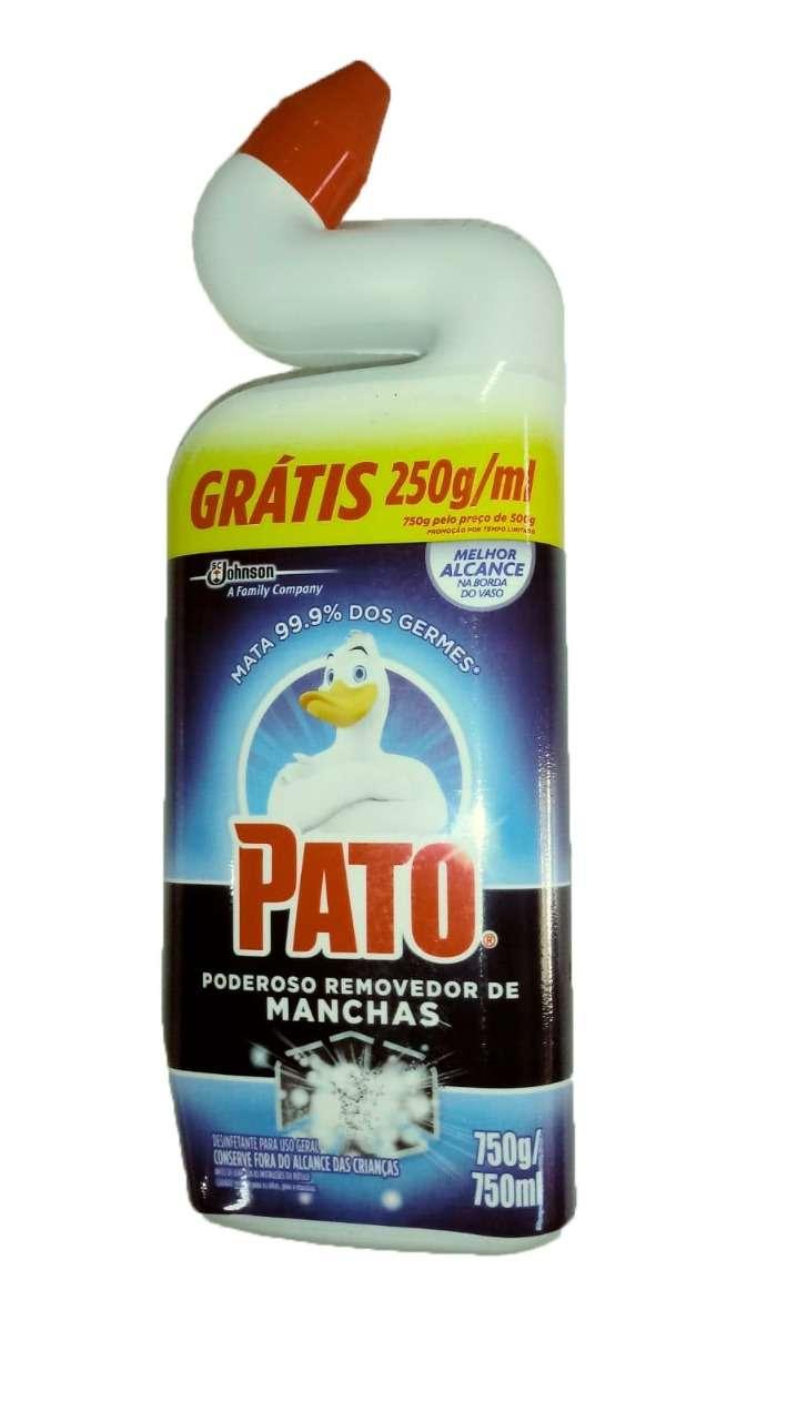 Limpador Sanitário Pato Poderoso Removedor de Manchas 750 ml