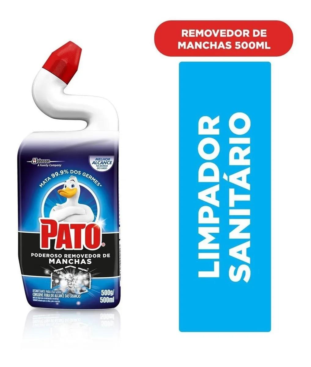 Limpador Sanitário Pato Power 500ml Destruidor de Manchas