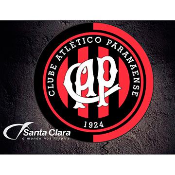 LUMINOSO DE PAREDE EM ACRÍLICO 40CM ATLETICO PARANAENSE