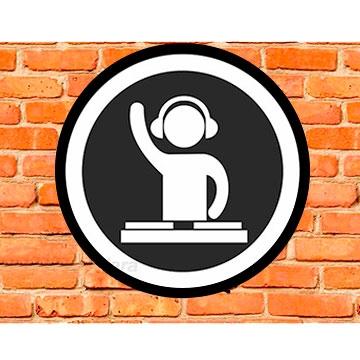 LUMINOSO DE PAREDE EM ACRÍLICO 40CM DJ 14E0FA5D