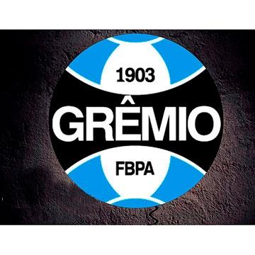 LUMINOSO DE PAREDE EM ACRÍLICO 40CM GRÊMIO 87AC9A69