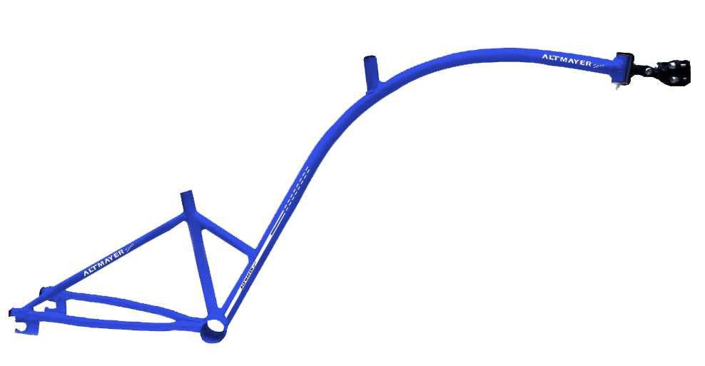 Quadro Bike Caroninha Azul Altmayer