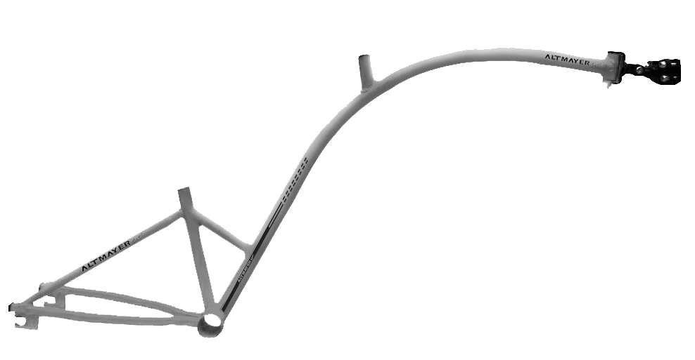 Quadro Bike Caroninha Cinza Altmayer