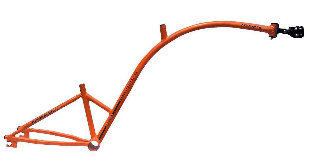 Quadro Bike Caroninha Laranja Altmayer