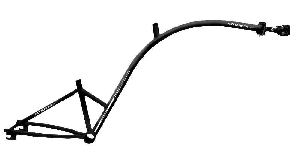 Quadro Bike Caroninha Preto - Altmayer