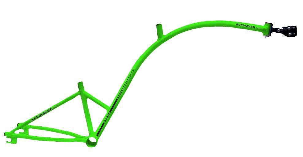 Quadro Bike Caroninha Verde Altmayer