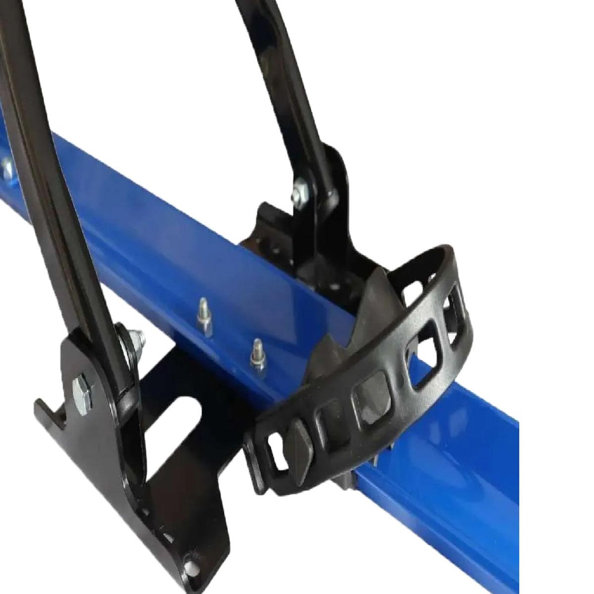 Rack Transbike Azul De Teto Sem Desmontar A Bike