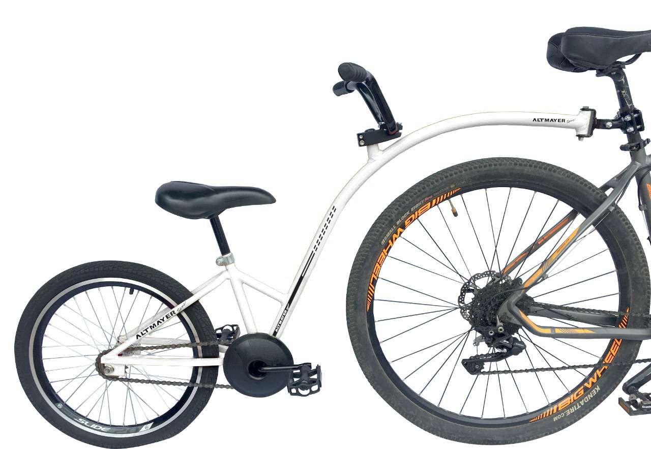 Reboque Infantil para Bicicleta Aro 20 Bike Caroninha - Branca - Altmayer