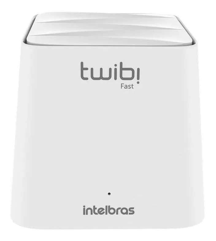 Roteador, Sistema Wi-Fi Mesh Intelbras Twibi Fast 4750070 Branco 100V/240V 1 unidade