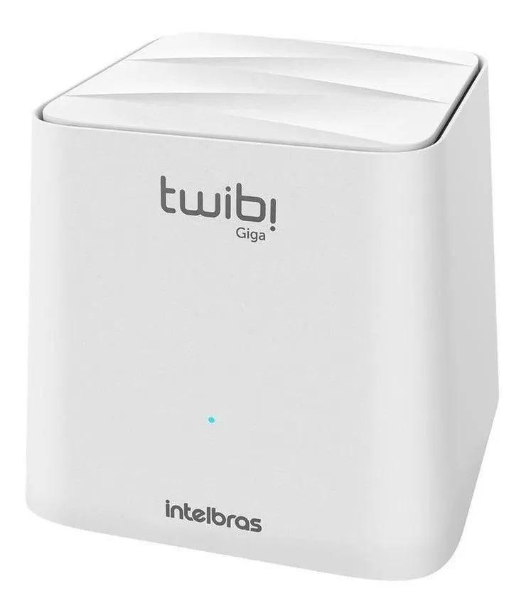 Roteador Wi-Fi Mesh  Intelbras Twibi Giga Branco 1 unid.