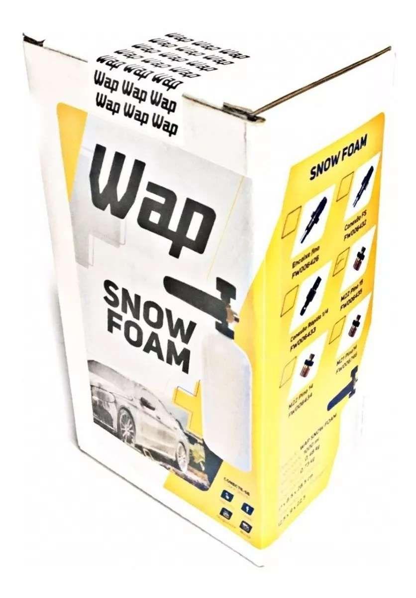 Canhão de espuma WAP SNOW FOAM FW006434 M22 PINO 14 Original