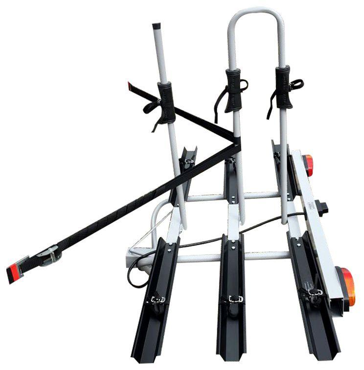 Suporte Veicular Transbike Engate para 03 Bicicletas Canaletas E Sinalizador Al-322 Altmayer