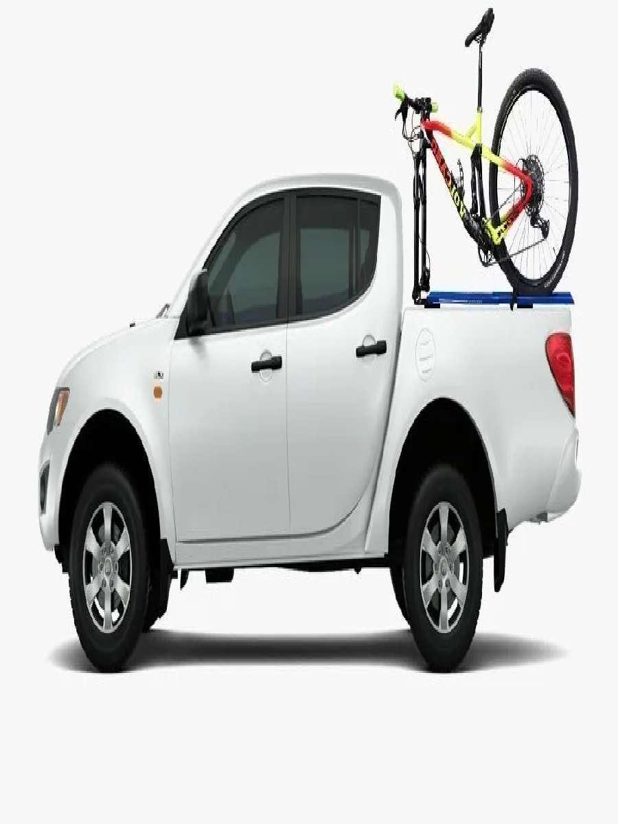 Suporte Bike Transbike Evo Com Canaleta Eixo 15 X 110 mm Alumínio