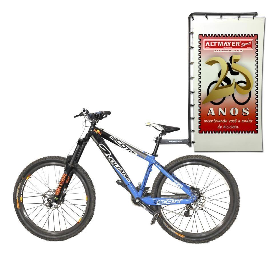 Suporte para Banner em Bicicleta Reforçado Para Propaganda Altmayer Al-46 TOP