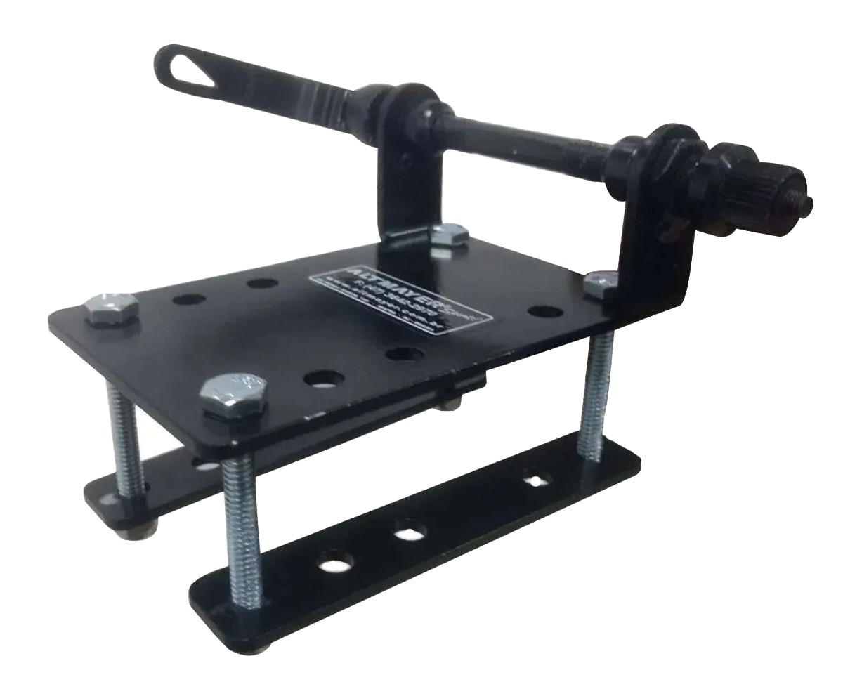 Suporte Veicular Transbike Mini Rack Para Pick-up Camionete Eixo 9mm 3/8  AL-241