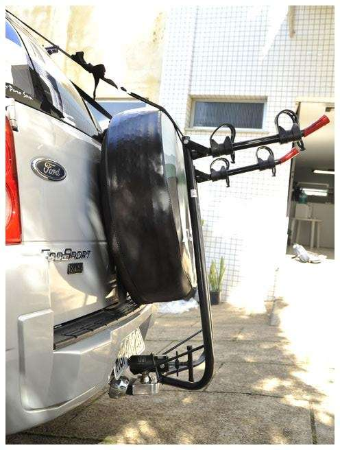 Suporte Veicular Transbike P/ Estepe P/ 2 Bicicletas Al-55 Altmayer