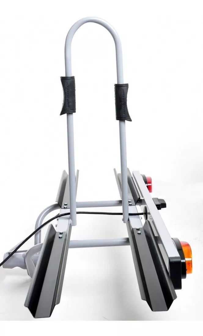 Suporte Veicular Transbike Bola com 2 Canaletas e Sinalizador AL-242 Altmayer