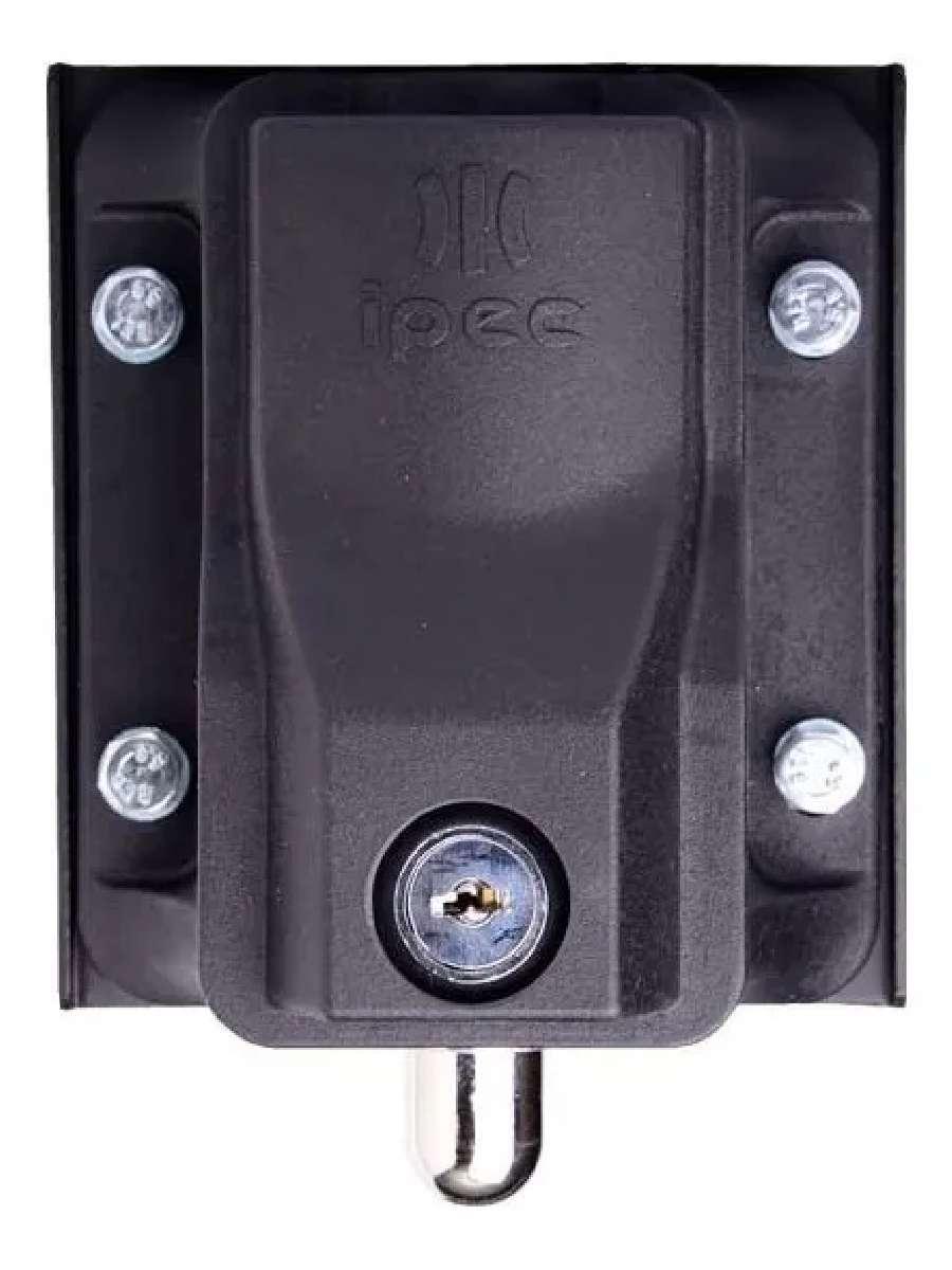 Trava Eletrica Eletromagnetica Com Temporizador Portões Eletrônicos 220V Basculantes Deslizantes E Pivotantes Ipec Eco Lock