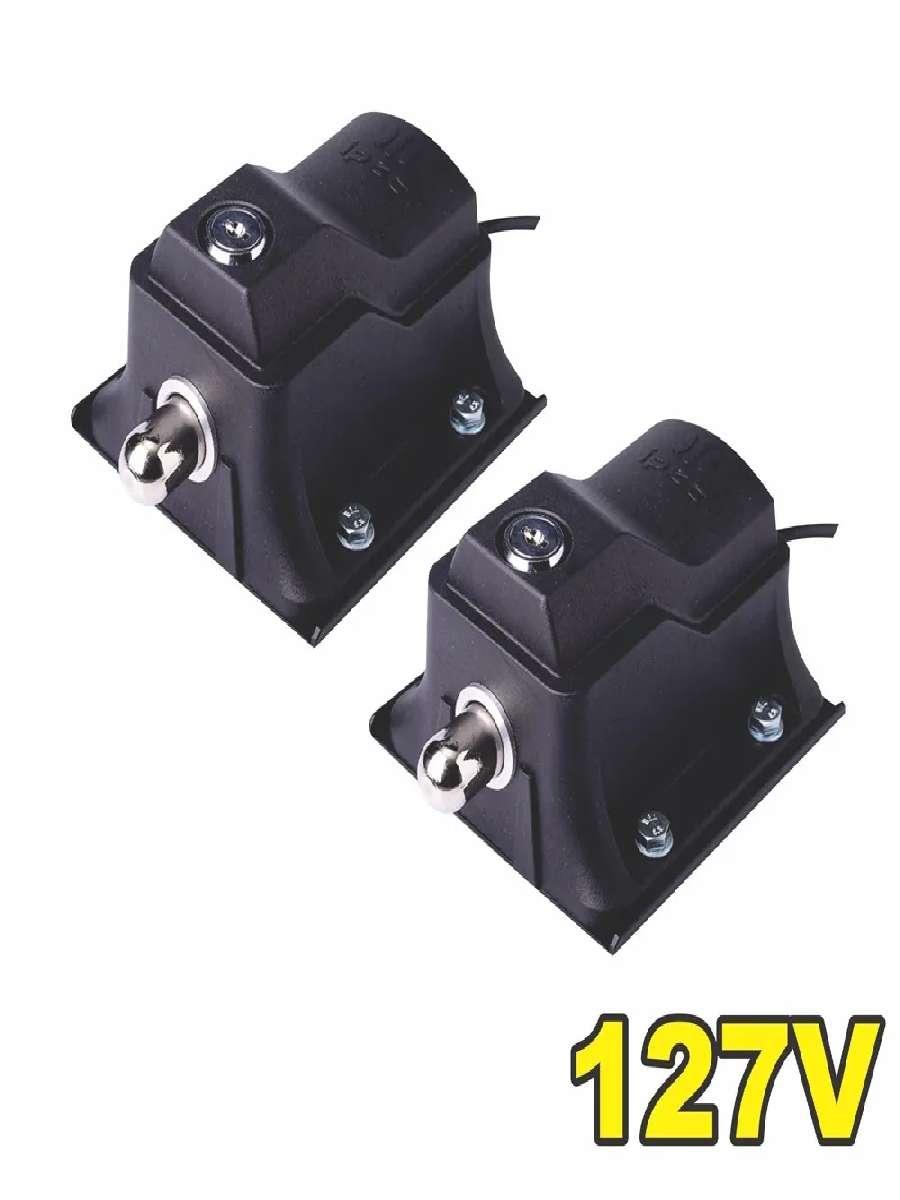 Trava Eletromag Temporizador Ecolock 127v Ipec Kit 2 unidades