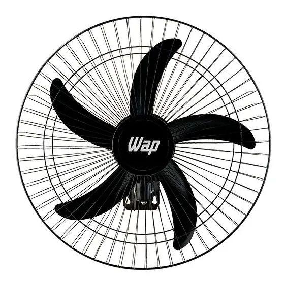Ventilador Parede Wap Rajada Pro 60 Preto Com Controle Bivolt
