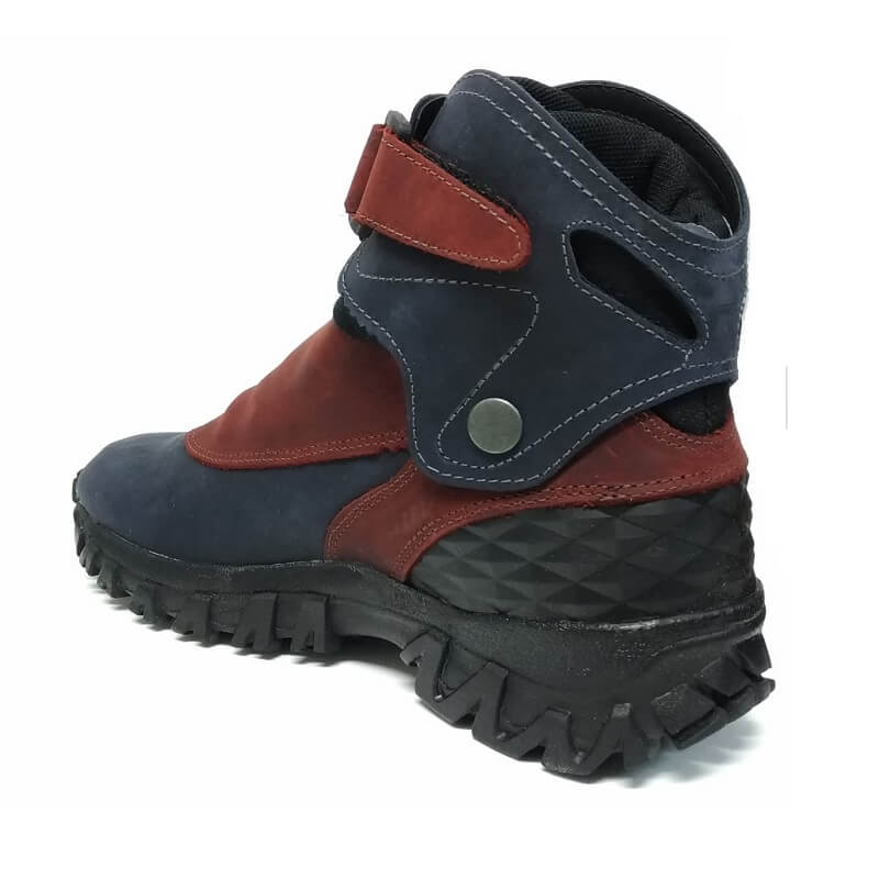 Bota Coturno Bull Terrier Soldier Couro Natural