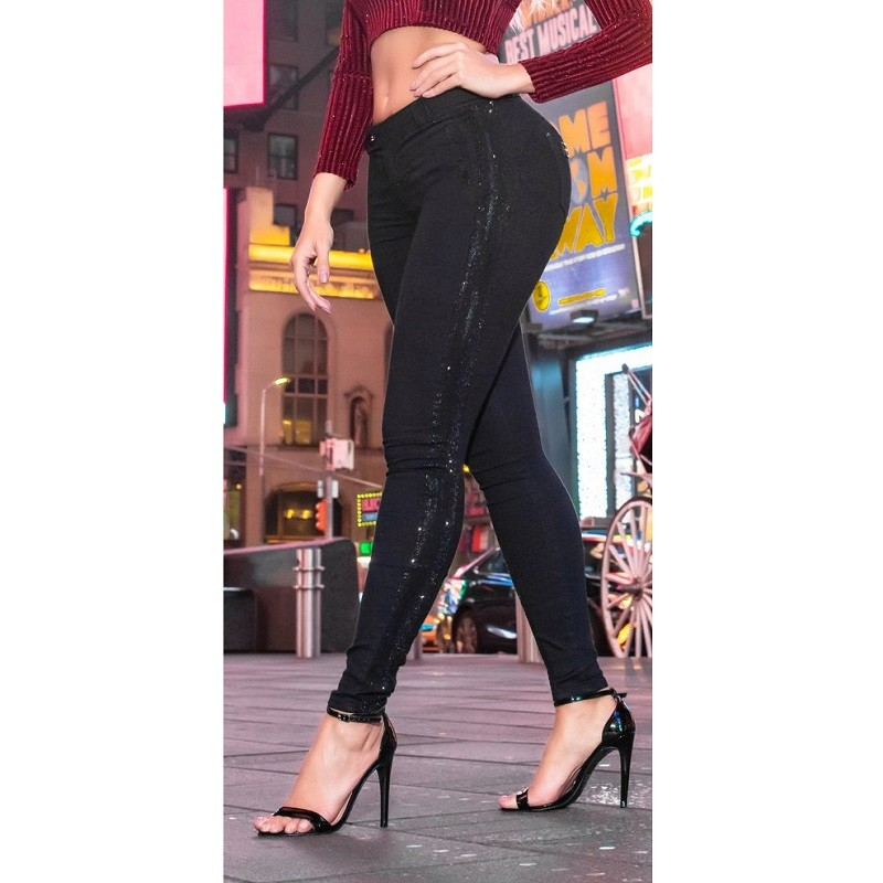 Calça Jeans Feminina PitBull Cigarrete Pit Bull 26848 Liquidação