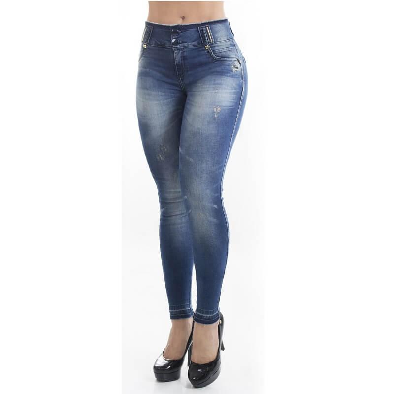 Calça PitBull Jeans Feminina Bojo Regulavél Pit Bull 26002