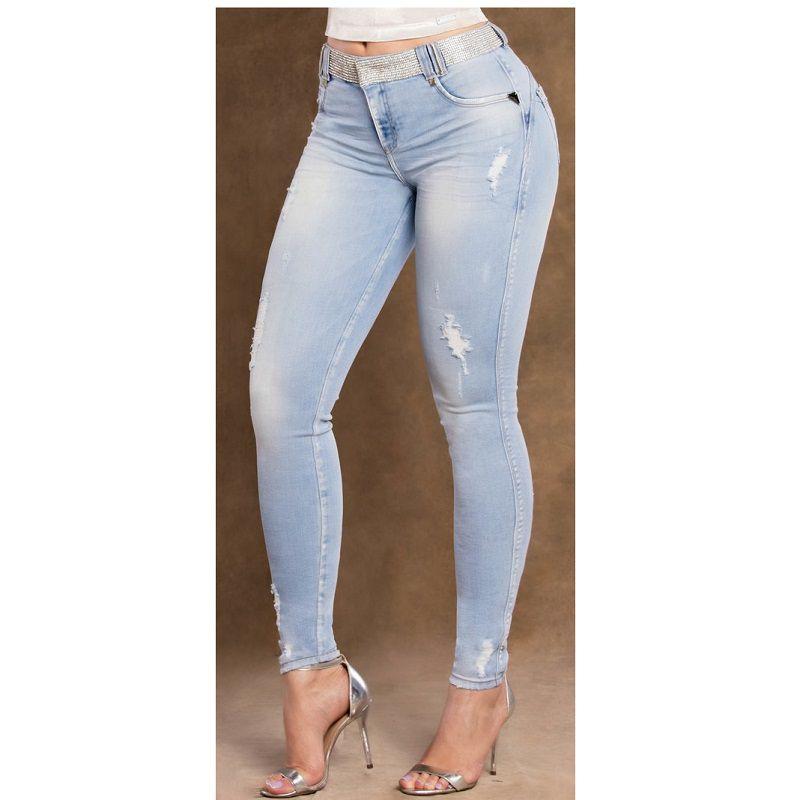 Calça PitBull Jeans Feminina Bojo Regulavél Pit Bull 27715