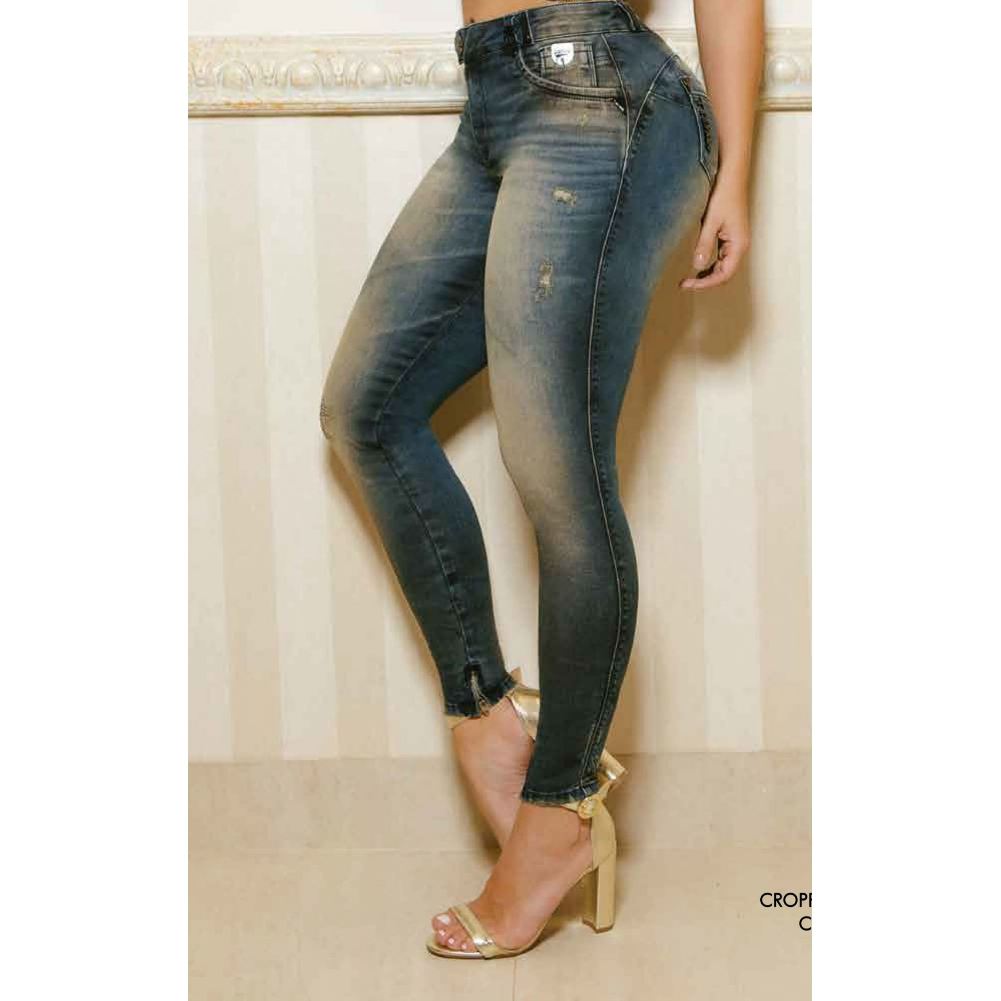 Calça PitBull Jeans Feminina  Cigarrete Pit Bull 25946