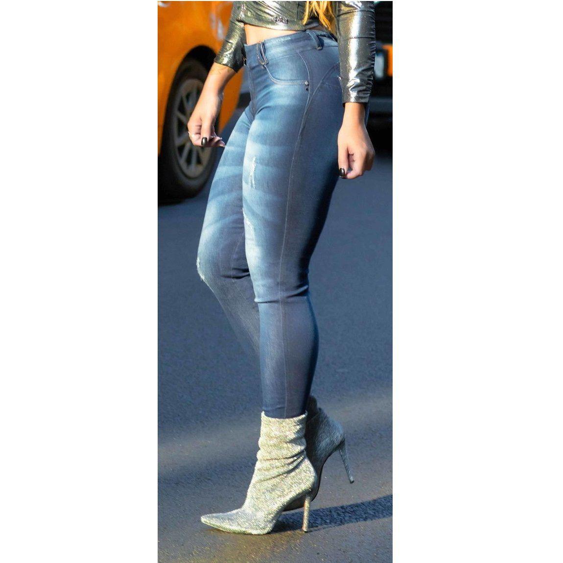 Calça PitBull Jeans Feminina  Cigarrete Pit Bull 27327