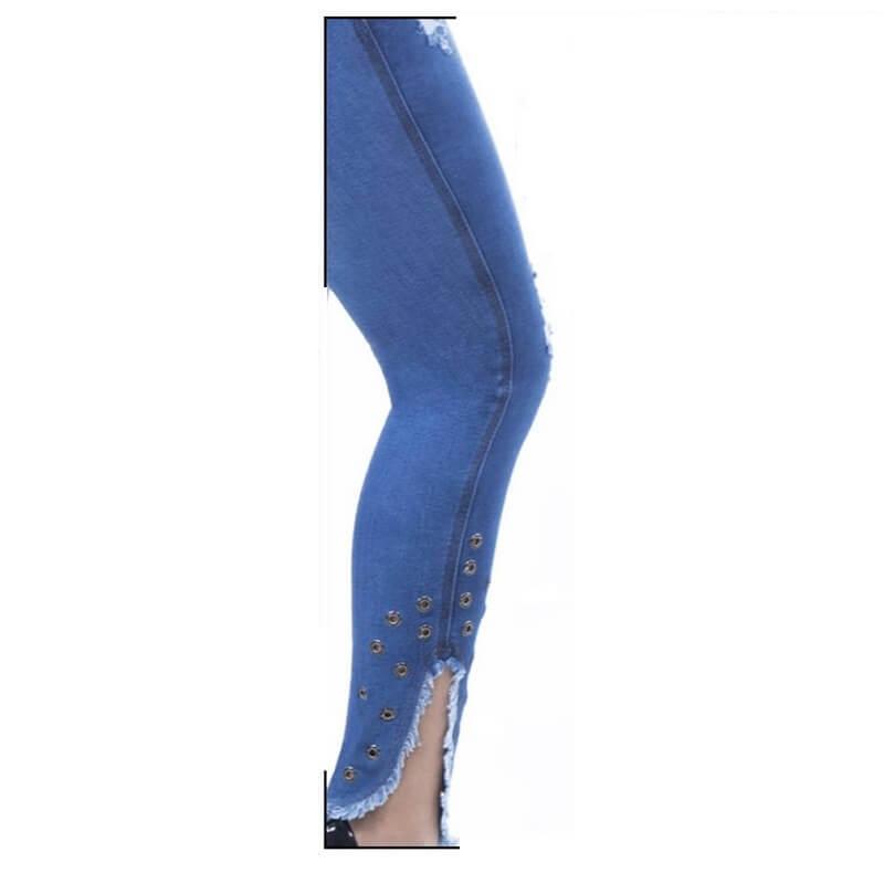 Calça PitBull Jeans Feminina com Bojo Regulavél Pit Bull 24858